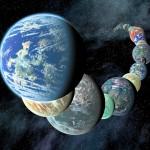 Exoplanets (credit: NASA)